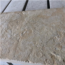 Texas Cream Limestone Leather Finish