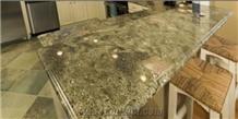 Verde Imperial Green Granite Table Tops