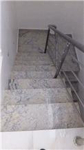 Supare Ivory White Granite Stairs