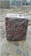 Karimnagar Maple Red Granite Blocks