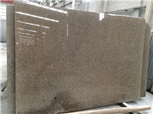 China Gold Diamond Tropic Brown Granite Tiles Slab