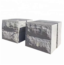 China Gray Granite G603 Natural Split Kerbstone