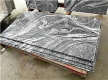 China Silver Clouds Granite Tiles for Floor Cover