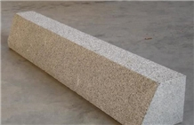 China Sunset Golden Granite G682 Yellow Kerbstone