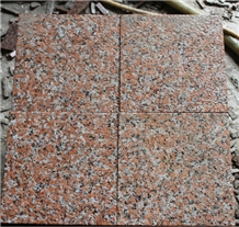 Chinese Flamed Granite G562 G4562 Maple Red Tile