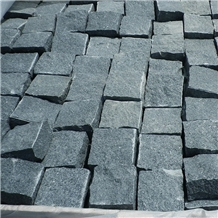 Chinese G654 Driveway Pavers Granite Cobble Stone