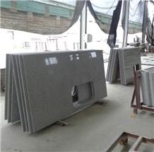 Chinese Grey Sesame White G603 Granite Countertops