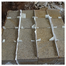 Chinese Yellow Rusty Granite G682 Tiles