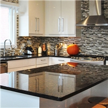 English Tan Brown Granite Kitchen Countertop