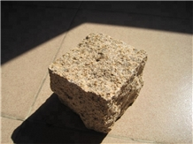Flamed Yellow Rusty G682 Granite Paving Stone