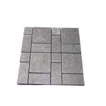 Fujian Hei Palladio Dark Granite Paving Stone