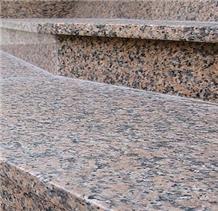G361 Red Granite Wulian Flower Granite Tiles Paver
