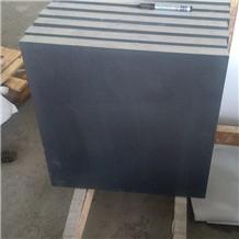 Honed Menggu Black Granite Tile,Mongolia Black Granite