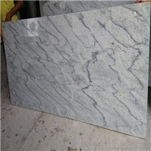 India New River Valley White Granite Tile