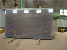 India Red Paradiso Classico Granite Polished Tile