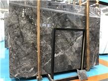 Italian Grey Polished Marble Interior Wall Floor