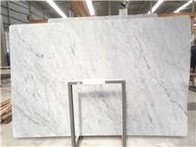 Italy Bianco Carrara White Marble Stone Slab Tiles