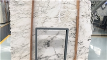 Italy New Paonazzo Marble White Polished Floor