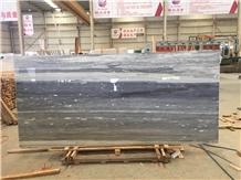 Italy Palissandro Blue Marble Polished Tile Slab