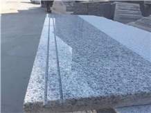 Jinjiang G3503 Padang Light Grey Granite Stair