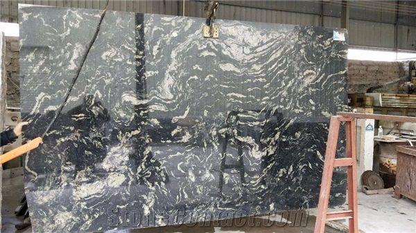 Ocean Blue Fantasy Granite For Countertops From China