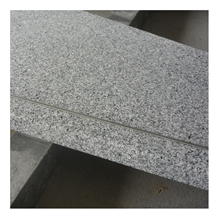 Polished Chinese White Granite G603 Stone Steps