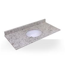Polished Kashmir White Granite Bathroom Countertop