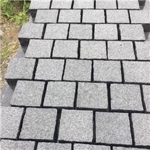 Split Padang Black G654 Granite Cubes