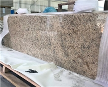 Yellow Giallo Ornamental Granite Slabs