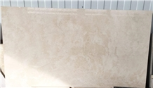 Cloud Travertine Honed Filled Slabs