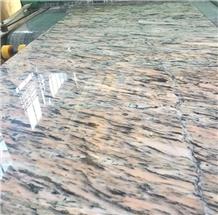 Leopard Crystal Marble Polished Slabs