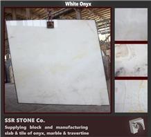 Iran White Onyx Slabs & Tiles