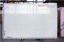 Snow-White Onyx -Snow White Onyx, Pure White Onyx