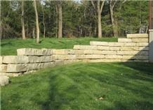Flint Hills Limestone Garden Wall Blocks