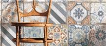 Havana Series from Tesoro - Hand Painted Murals