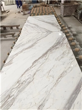 Volakas Marble Bookmatch Slabs,Ajax White Marble