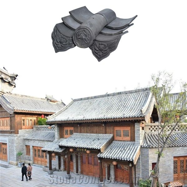 Japanese Style Clay Roof Tiles For Garden House From China Stonecontact Com