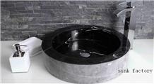 Nero Marquina Basin Nero Marquina Sink Wash Bowls