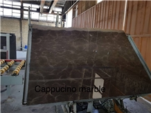 Marron Cappuccino Marble, Verona Marble Slabs