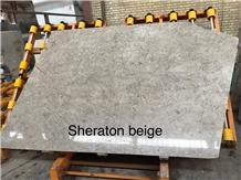 Sheraton Beige Marble Slabs
