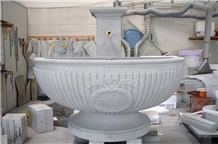 Bollingen Sandstone Cnc Carved Fountain