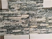Lotus Green Granite Cultured Stone Interior Wall