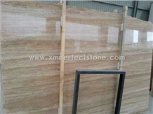 Travertine Slabs, Denizli Beige Travertine Tiles