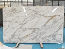 Calacatta Gold White Marble Stone Slabs&Tiles