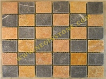 Black and Yellow Antique Mosaic (5*5)