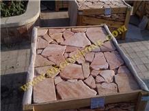 Tumbled Red Paladiyana Landscaping Stones