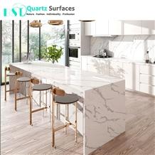 Marble Imitation Quartz Stone Counter Top