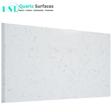 White Marble Looking Artificial Quartz Stone Slabs
