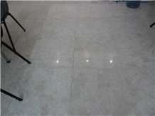 White Coral Stone Polished Floor Tiles