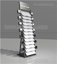 New Style Granite Stone Display-Stand for Showroom